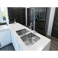 undermount double kitchen sink ancona ancona prestige series undermount double bowl sink