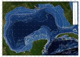 Map Gulf Of Mexico by Big Game Fishing This Fall Charter Fishing Destin