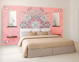 bohemian wallpaper etsy