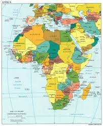 Flags Of African Countries Maps Of Europe Middle East Africa Region Emea Flags New And Map