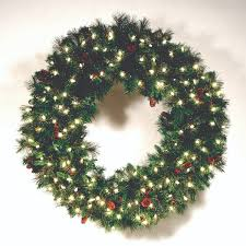 commercial grade garland wreaths led waterproof light sets