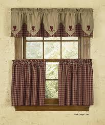 Country Lace Curtains Catalog Cortina Estilo Country Ideal Para La Cocina Cortinas Diseños