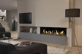 Built In Fireplace Gas by Gas Fireplace Contemporary Closed Hearth Built In Dru