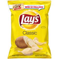 lay u0027s classic potato chips 8 oz bag walmart com