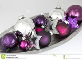 ornaments silver purple stock photo image 59086820