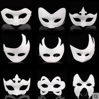 plain masquerade masks blank mask white masquerade mask dhgate