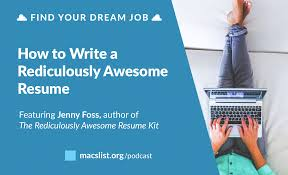 how to write continuing education on resume ep 008 how to write a ridiculously awesome resume ep 008 how to write a ridiculously awesome resume with jenny foss