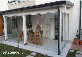 vetrata veranda verande in vetro e alluminio per terrazzi balconi bar ristoranti