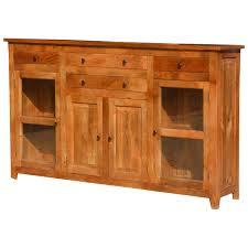 dallas ranch rustic solid wood contemporary sideboard