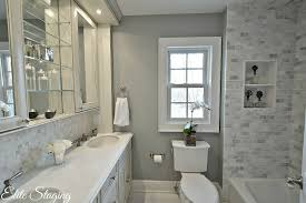 Staged Bathroom Pictures by Fifty Shades Of Gray Paint Colors When Selling