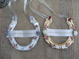 horseshoe wedding gift wedding anniversary horseshoe pictures carol s wedding favors
