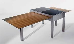space saver expandable dining table for small spaces space