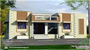 Indian Front Home Design Gallery Single Floor House Front Elevations October Architecture House