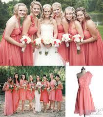 bridesmaid dresses coral key color for bridesmaid dresses 2014 coral vponsale wedding