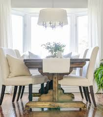 diy farmhouse dining table plans a burst of beautiful build a beautiful diy farmhouse dining room table with these simple plans from www aburstofbeautiful
