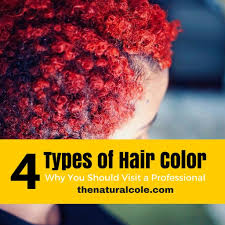 types of red colors 4 types of hair color the natural cole