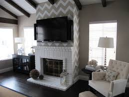 home sweet home on a budget living with television chevron