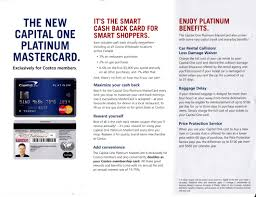 new capital one platinum mastercard for costco canada