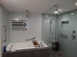 glass tile bathroom designs custom full bathroom remodel must see before and after