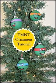 diy mutant turtles ornaments tutorial