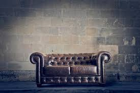 1970s Leather Sofa Old Leather Sofa Royalty Free Stock Photography Image 31804277