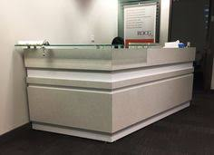 Accessible Reception Desk David Lane Office Furniture We Created This Stylish Multi