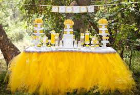 yellow baby shower ideas dandelion baby shower baby shower ideas themes