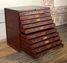 Hardware Storage Cabinet File Drawer Hardware Vintage Metal Flat File Storage Cabinet