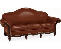 Leather And Tapestry Sofa Sofas Living Room Thomasville Furniture