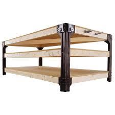 Bed Frame Lowes Bedding Shop 2x4basics Black Polyresin Workbench Brackets At Lowes