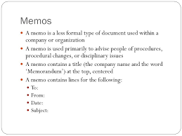 Business Letter Memorandum Example Writing And Speaking For Engineers Honors Basics Of Memos And