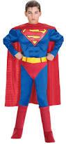 children s costumes halloween amazon com rubie u0027s dc heroes muscle chest superman costume small
