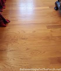how i removed rug backing damage from hardwood flooring
