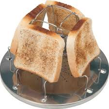 4 Slice Bread Toaster Wholesale Camping Toaster Rack 4 Slice Toast Tray For Camp Gas