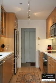 kitchen decorative galley kitchen track lighting ideas with