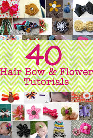 how to make headband bows 17 fabulous hair bow and flower tutorials hair bow flower