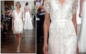 Knee Length Wedding Dresses Jenny Packham Fall 2013 Short Wedding Dress Recent Bridal 2015 2016