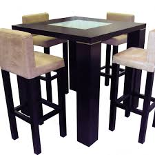 Elite Dining Room Furniture by Elite Bar Pub Table Wenge Counter Height Tables