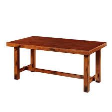expanding dining table walker edison furniture company huntsman dark oak extendable
