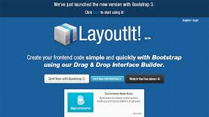 layoutit video showcase of useful bootstrap tools for web developers