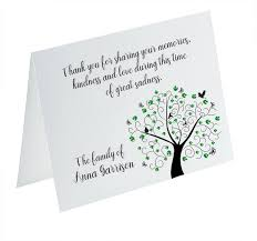 thank you cards for funeral funeral thank you cards sympathy acknowledgement cards