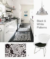 Black And White Striped Kitchen Rug Black And Grey Kitchen Rugs Koffiekitten