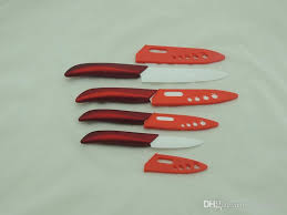 Sharpening Ceramic Kitchen Knives Best Quality 4pcs Sharpening Ceramic Kitchen Knife Set Ceramic