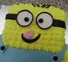 minion birthday cakes minion birthday cake picture of s cake shop shanklin