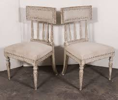 six swedish gustavian 1790s painted chairs for sale at 1stdibs