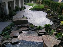 elegant stamped concrete patio design ideas stamped concrete