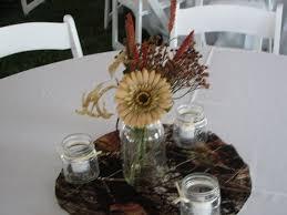 Attractive Inspiration Camo Wedding Centerpieces Charming