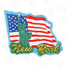 New Yorks Flag New York Magnete