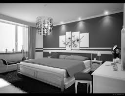 Gorgeous  Black White Gray Living Rooms Inspiration Design Of - Black and grey bedroom designs