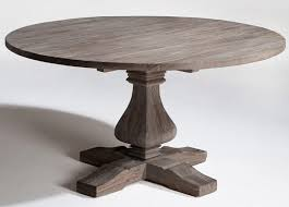 Farmhouse Round Kitchen Table by Reclaimed Furniture Natural Wood Furniture Recycled Wood